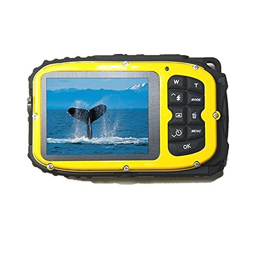Fitiger Underwater 10m Waterproof Camera 2.7inch LCD 16MP Di
