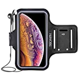 Triomph Waterproof Phone Armband Case for iPhone Xs Max, XR, X, 8 Plus