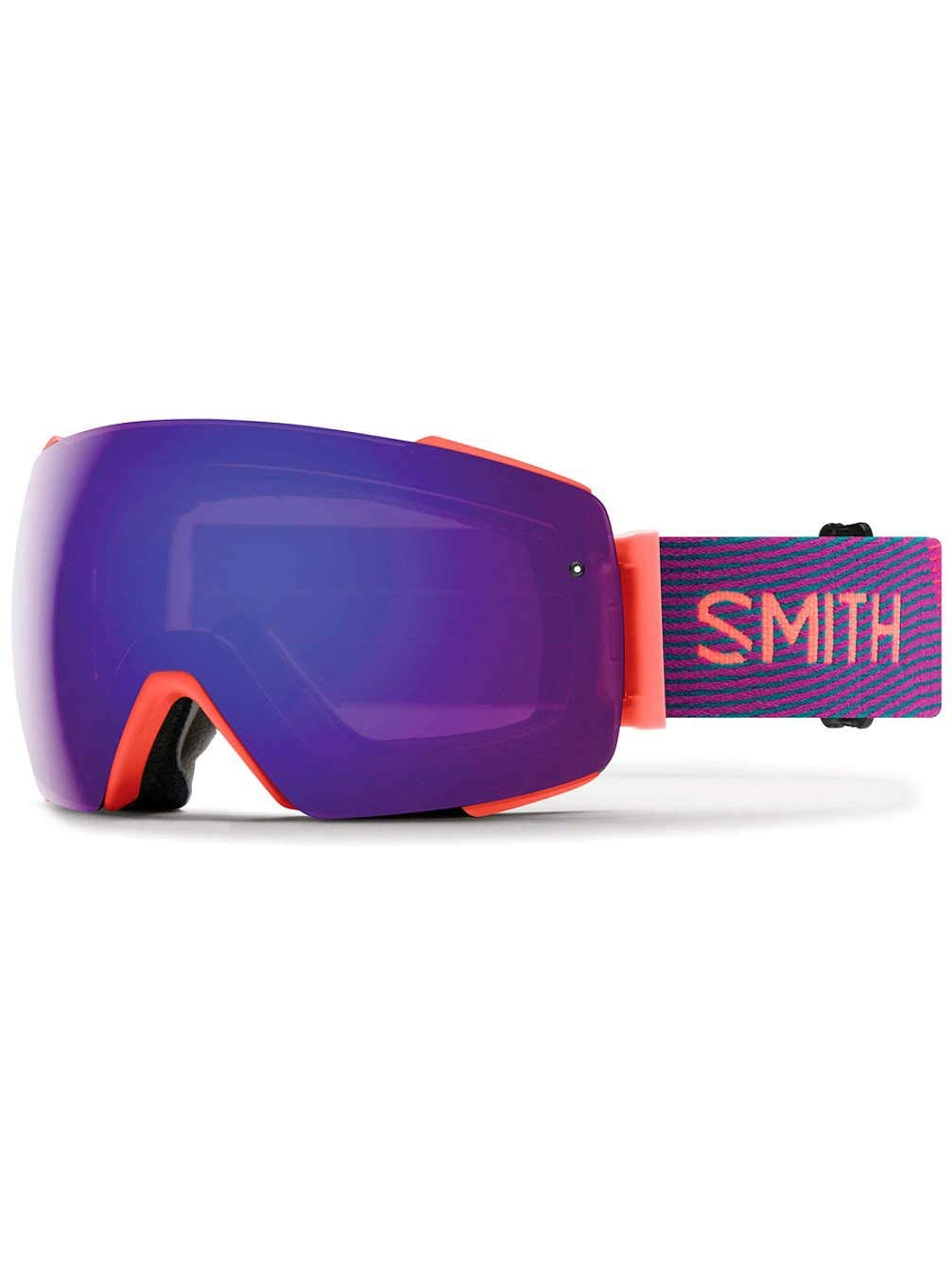 Smith I/O Mag スノーゴーグル 周波数 CP 日常用 バイオレット ミラー&CP ストーム ローズフラッシュレンズ B07G4CKC3G