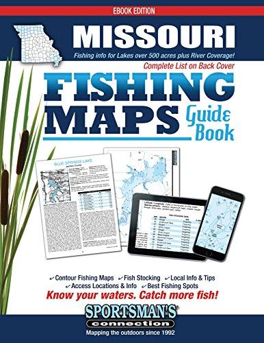 Missouri Fishing Map Guide ()