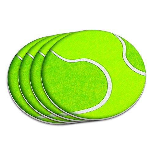 Tennis Coaster - Tennis Ball Coaster Set