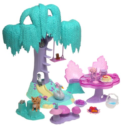 Barbie of Swan Lake: Enchanted Forest Playset (Enchanted Forest Candle Holder)