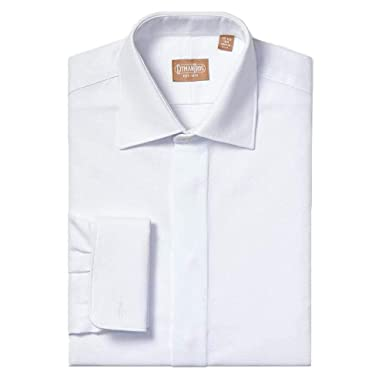 6521bb8c Gitman Medium Spread Pique Tuxedo Shirt (Regular Fit) (14.5 x 32) White