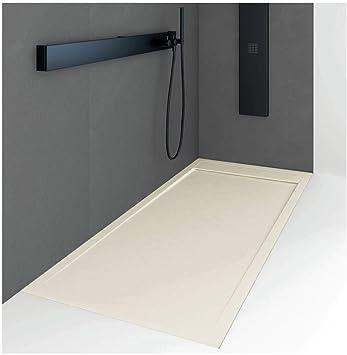 Plato de ducha resina MILANO QUORE color ARENA 70x180cm: Amazon.es: Bricolaje y herramientas