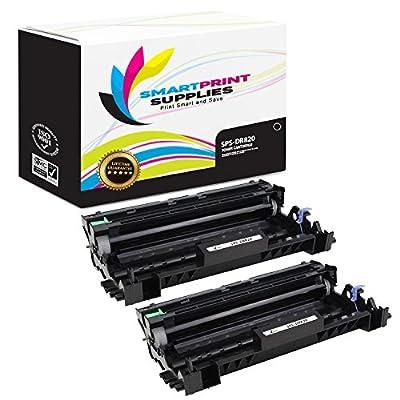 Smart Print Supplies DR820 DR-820 2 Pack Compatible Drum Unit Replacement for Brother HL-L6200 L6300 L5200, MFC-L6900 L6700 L5800 L5850, DCP-L5500 L5600 Laser Printers (30,000 Pages)