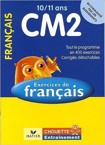 Amazon Fr Francais Cm2 10 11 Ans Exercices De Base