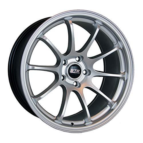 (STR RACING STR901 HYPER SILVER Wheel (189''/5114.3mm 25mm Offset))
