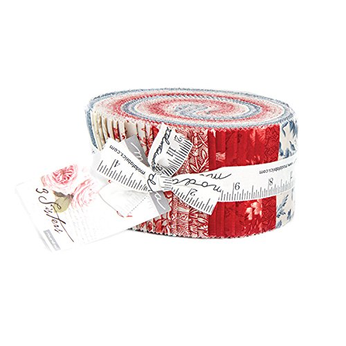 red and white jelly roll - 4