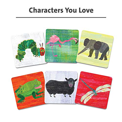 Wonder Forge Eric Carle Matching Game For Boys & Girls Age 3 To 5 – A Fun & Fast Animal Memory Game