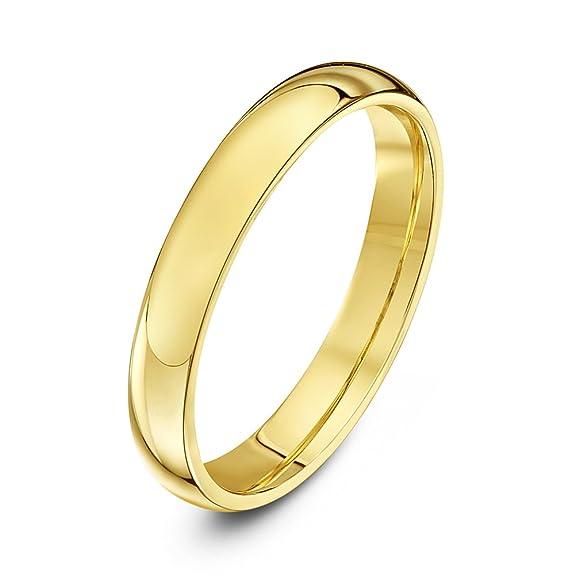 Anillo de Bodas de Oro Amarillo o Oro Blanco 9K Unisexhttps://amzn.to/2VfWbYs