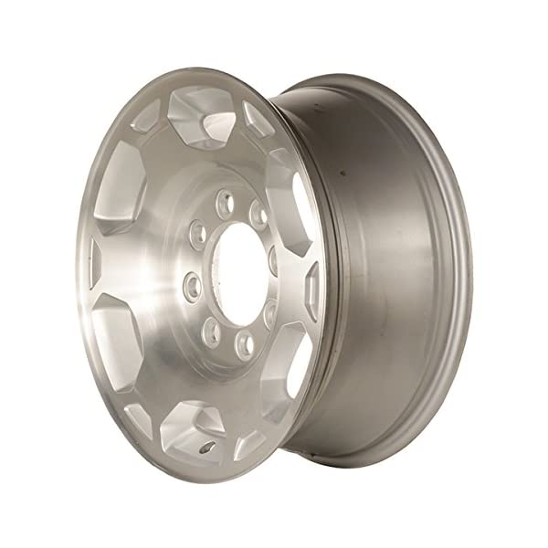 17-Machined-With-Silver-Pockets-New-OEM-Wheels-for-07-10-GMC-SIERRA