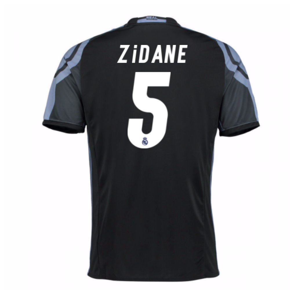 2016 – 17 Real Madrid 3rdシャツ( Zidane 5 ) B077YZX7Z8 Medium 38-40