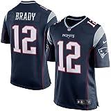 Nike NFL New England Patriots Tom Brady #12 Game Team Jersey College Navy (XL)