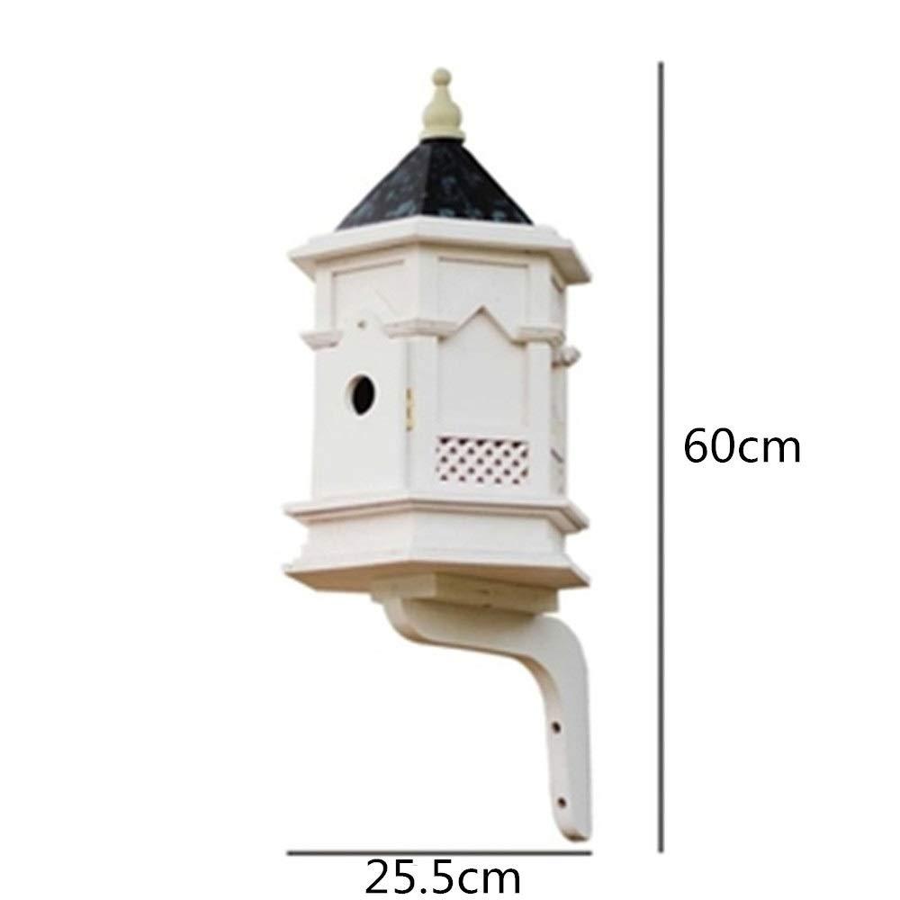 Jaula de pájaros Mesa de madera for pájaros Colgante de pie ...