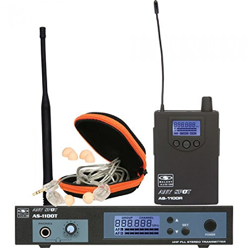 Galaxy Audio AS-1100-D UHF Wireless In-Ear Personal Monitor System