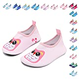 CIOR Fantiny Baby Boys Grils Water Shoes Unisex Infant Barefoot Skin Aqua Socks for Beach Swim Pool,owl,140cmA