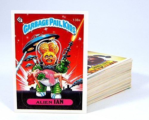 1986 Topps Garbage Pail Kids 4th Series 84 Card A & B Set ()