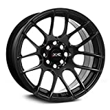 XXR Wheels 530 Chromium Black Wheel with Painted Finish (17x8.25''/4x100.4mm, +25mm offset)