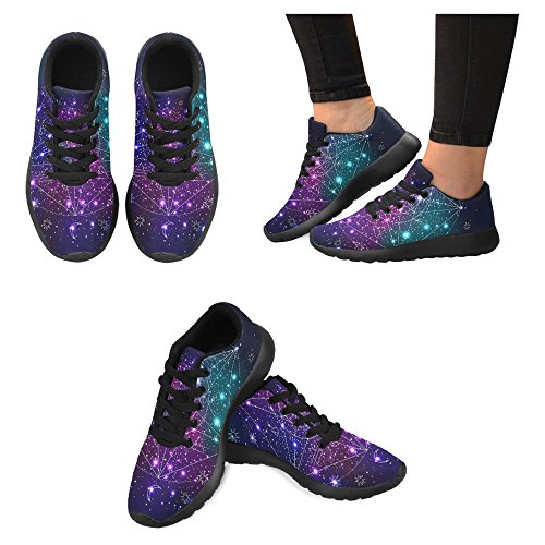 Interestprint Mujeres Jogging Running Sneaker Ligero Go Easy Walking Casual Comfort Deportes Zapatillas De Running Multi 11