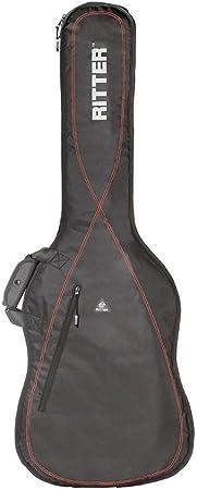 Ritter RGP2-B BAJO - Funda/estuche para guitarra electrica-bajo, con tejido repelente al agua, color negro: Amazon.es: Instrumentos musicales