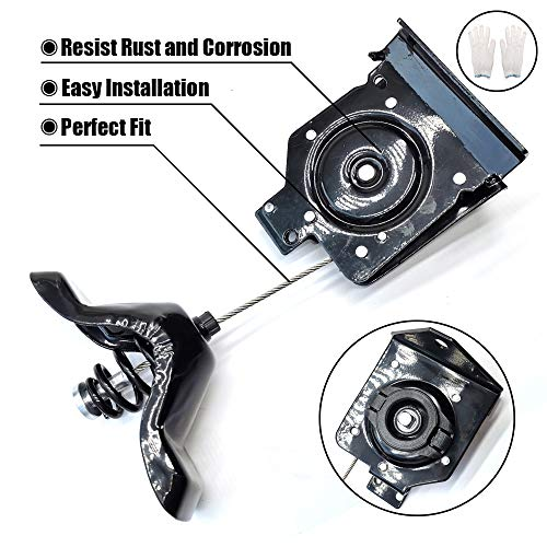 A 2003 Winch - FEXON Spare Tire Winch Carrier Hoist Assembly for 2003-2010 Chevrolet Silverado 2500 HD 2003-2010 GMC Sierra 2500 HD 19259450 25792480 25912261 924-502