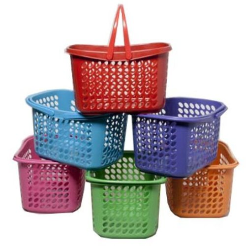 Ddi Basket With Folding Handles (pack Of 36)
