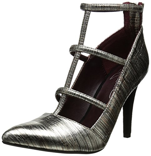 Report Signature Women's Daycee Boot, Silver, 7.5 M US