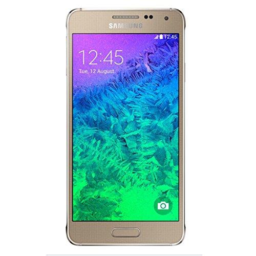 Samsung Galaxy Alpha G850a 32GB Unlocked GSM 4G LTE Quad-Core Smartphone (Gold) - AT&T - No Warranty (Samsung Galaxy A3 Lte Unlocked)