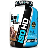 BPI Sports ISO HD Whey Protein Isolate and Hydrolysate, Vanilla...