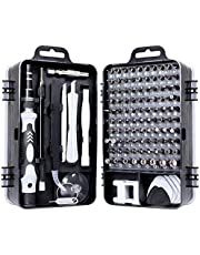 Sum-of-Best 115 in 1 Screwdriver and Complete Tools (Black)