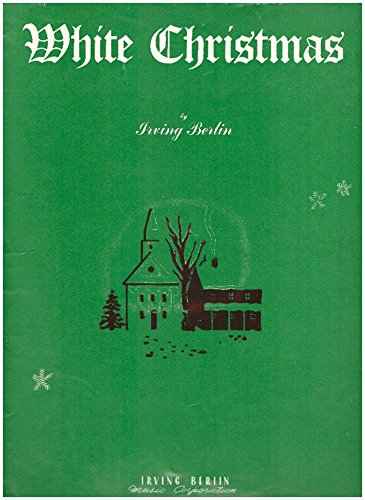 (WHITE CHRISTMAS IRVING BERLIN 1942 SHEET MUSIC FOLDER 570)
