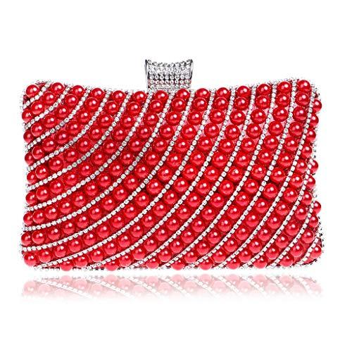 hombro Rojo Red 1 YHB442 Bolso mujer Red al BESTWALED para U6wHq