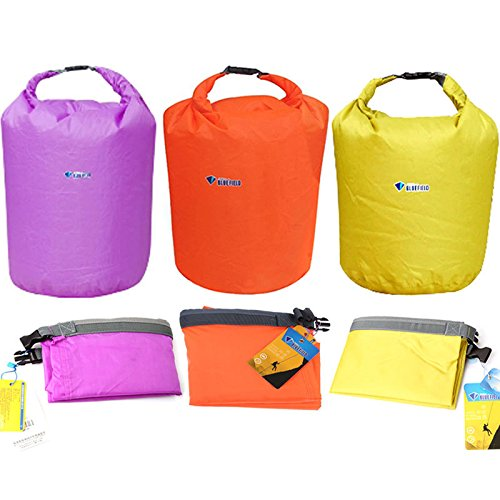 Travel Supplies - 20l Waterproof Bag Storage Dry Sack Pouch Canoe Floating Boating Kayaking - Rainproof Parched Suitcase Raincoat Rainless Handbag Tight Arid Purse Desiccated Bagful - 1PCs
