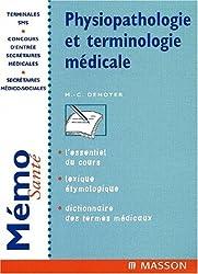 Physiopathologie et terminologie médicale