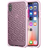 tech21 Evo Gem Phone Case with 12ft Drop Protection for Apple iPhone X and XS - Pink