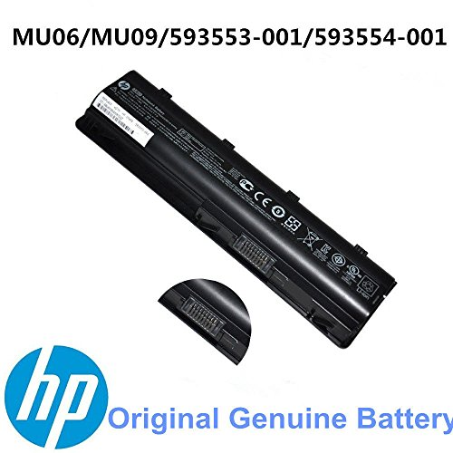 001 Hp Notebook (New Genuine Original for HP 2000-425NR Notebook Laptop Battery MU06 593553-001)