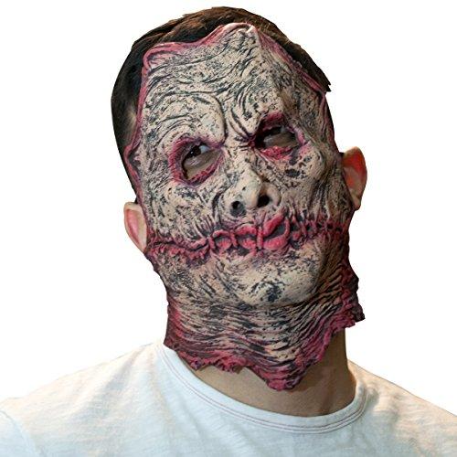 [The Mask Biz Freddy Krueger Ugly Half Face Head Funny Mask] (Women Freddy Krueger Costumes)