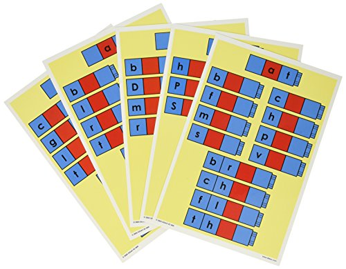 Didax Educational Resources Unifix Word Family Cards