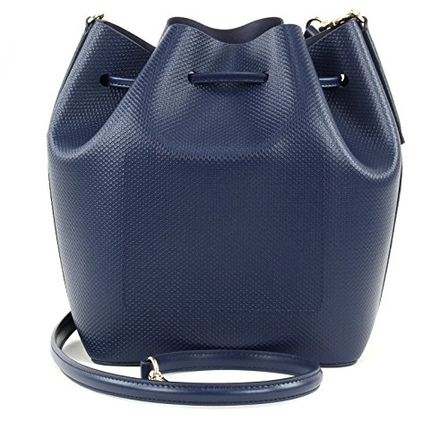 LACOSTE Chantaco Bucket Bag Peacoat