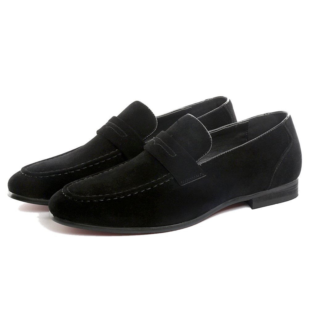 99fc114d4e3 CMM Men s Driver Loafers Slip-On Shoes Slip-On Dress Shoes Loafers Size  Casual Flat Shoes Plus Size Black