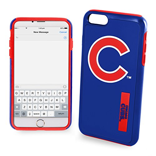 Chicago Cubs Impact TPU 2-Piece Dual Hybrid iPhone 8 PLUS / iPhone 7 PLUS / iPhone 6 PLUS / 6s PLUS - 5.5