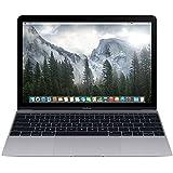 Apple Macbook Retina Display 12' Laptop (2015) - 256GB SSD, 8 GB Memory, Space Gray (Custom-Built, Brown-box Packaging)
