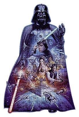 Disney Star Wars Puzzle Darth Vader 1098 Silhouette Premium Puzzle Soft Click