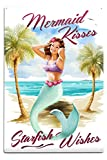 Best Lantern Press Wishes Signs - Lantern Press Mermaid Kisses and Starfish Wishes Review