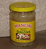 Mancini Sliced-Sweet Fried Onions 2- 12 Ounce Jars