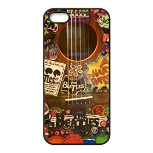 The Beatles iPhone 5s Case TPU Rubber Soft Protective Cover Case for iPhone 5 5s