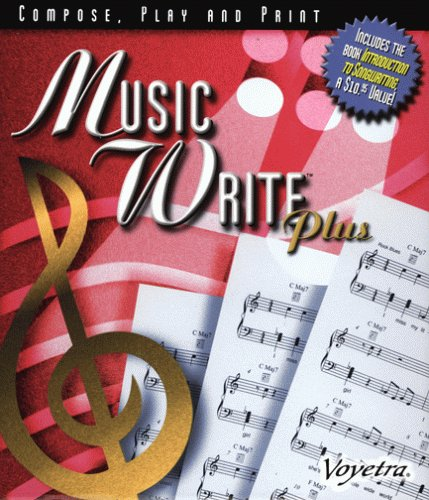 Music Write Plus Software (Compose, Play and Print)