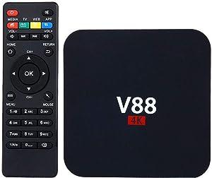 V88 4K Android 6.0 Smart TV Box Latest RK3229 Quad Core 8GB HD 1080P WIFI Media