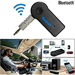 GBSELL Details about Wireless Bluetooth 3.5mm AUX Audio Stereo Music Home Car Receiver Adapter Mic