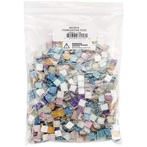 Diamond Tech Crafts MS34916 Cobblestone Tiles 1lb-Lights
